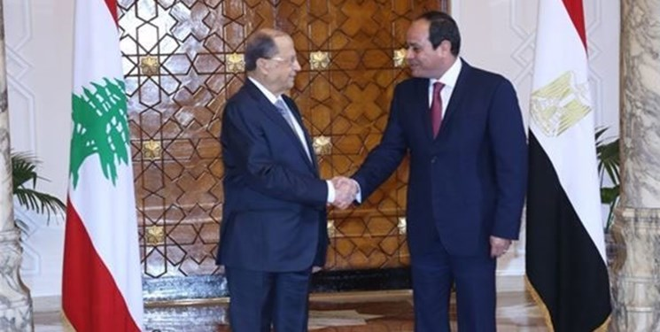 پیام السیسی به میشل عون در ارتباط با تشکیل دولت