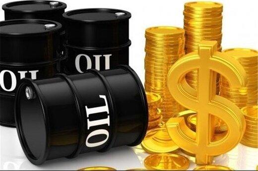 افزایش قیمت نفت با افت ارزش دلار