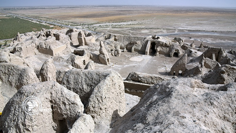 بزرگترین معماری خشتی ایران باستان کجاست؟