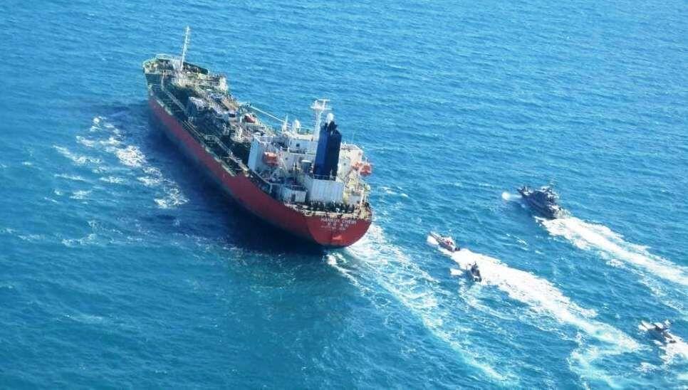 نفتکش کره جنوبی از سوی ایران آزاد شد