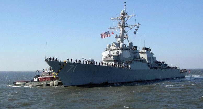 اعزام دو ناو جنگی آمریکا به دریای سیاه