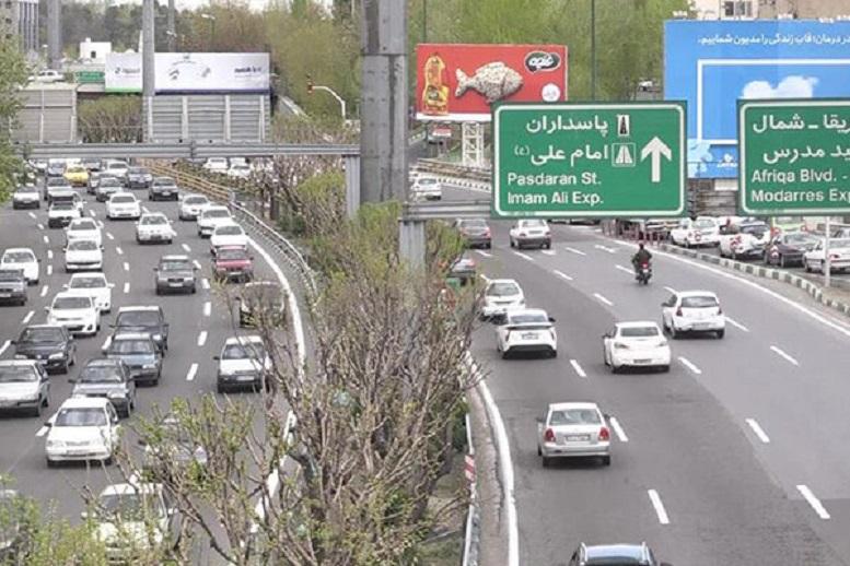 ترافیک پایتخت به روزهای قبل از تعطیلات بازگشت