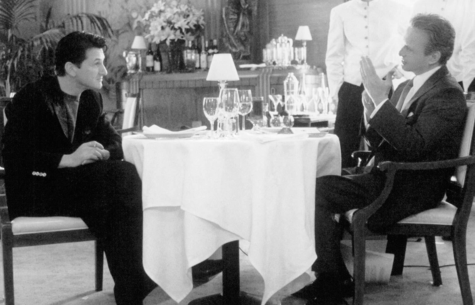تركيب ديدني مايكل داگلاس و شان ژن در «بازي» فينچر