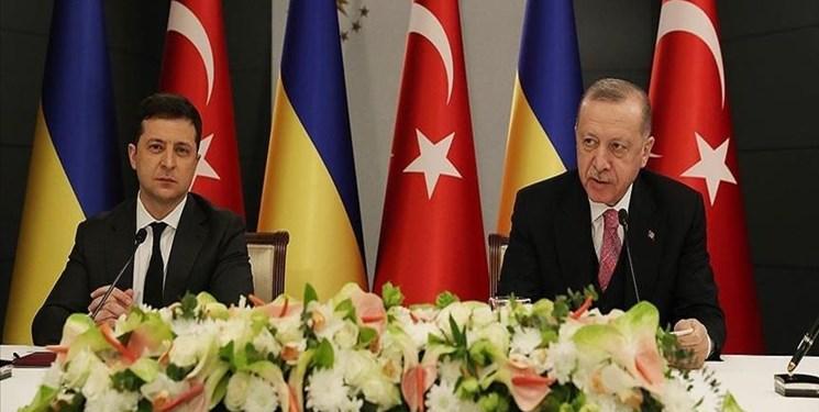 دیدار رؤسایجمهور ترکیه و اوکراین در استانبول
