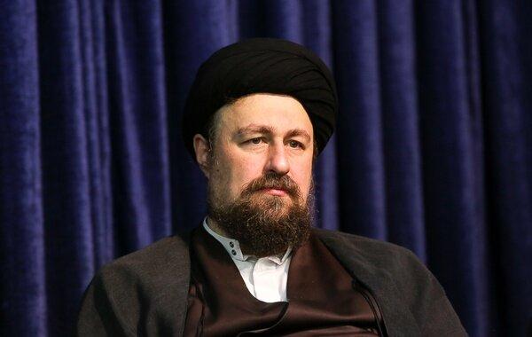 تسلیت سیدحسن خمینی به میرحسین موسوی