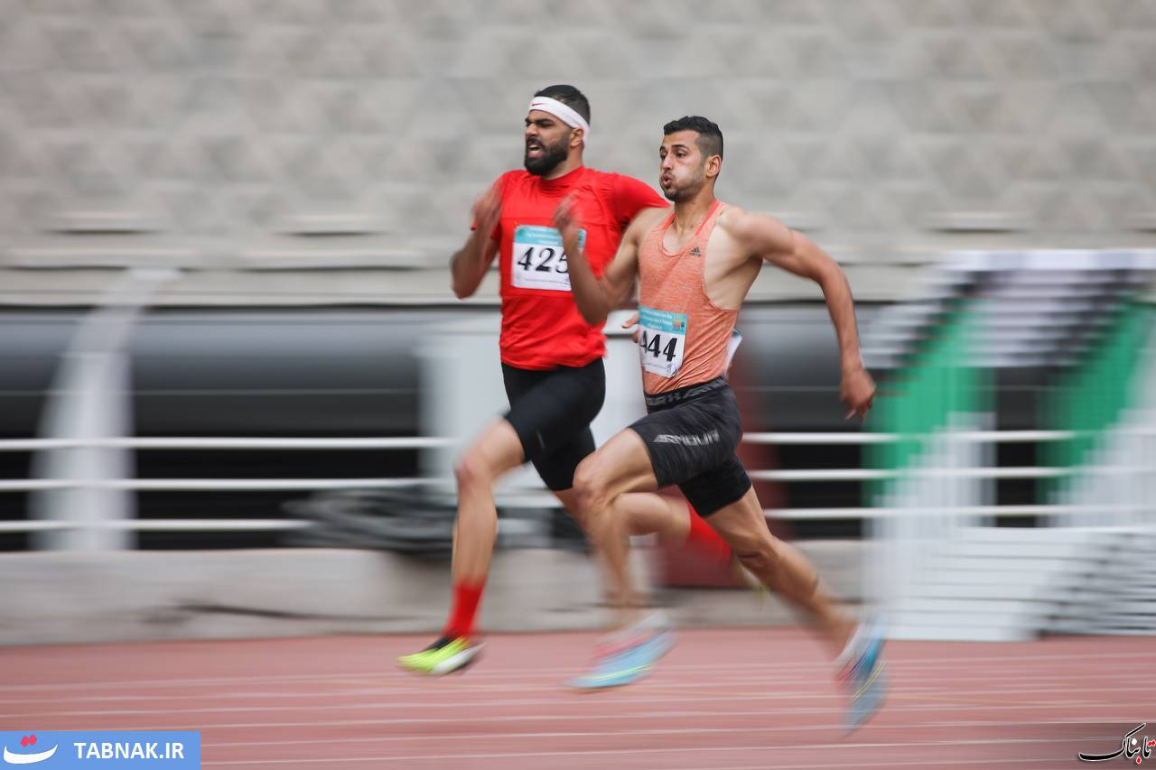 گزارش تصویری از دوومیدانی بینالمللی جام امام رضا در مشهد