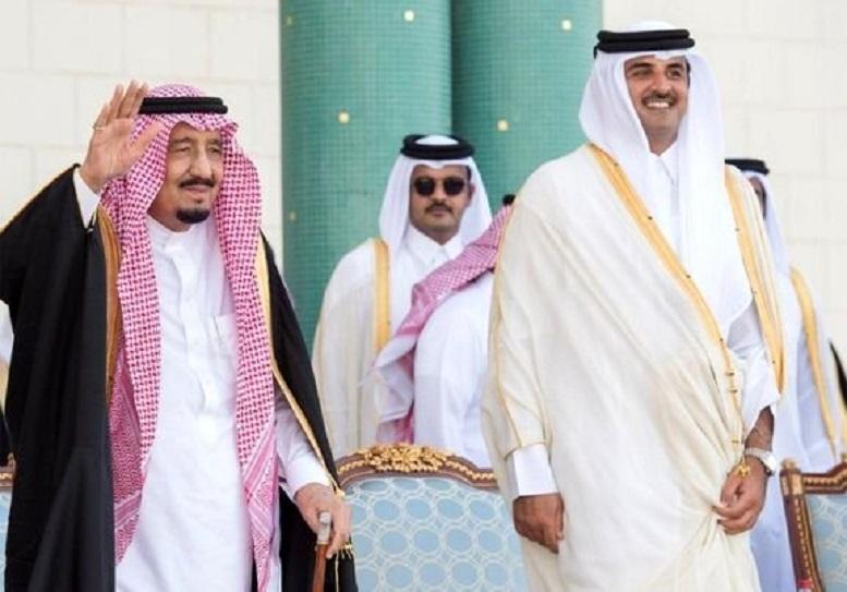 نخستین تماس امیر قطر با پادشاه عربستان پس از آشتی
