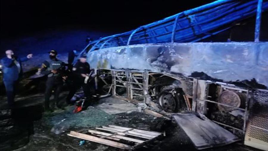 تصادف اتوبوس و کامیون در مصر با ۲۰ کشته