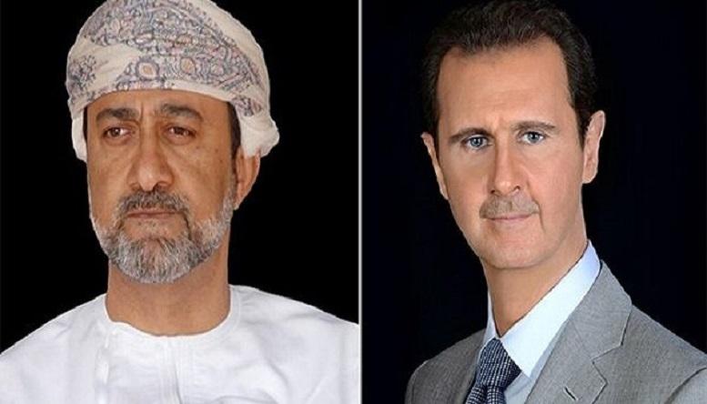 پیام تبریک پادشاه عمان به بشار اسد