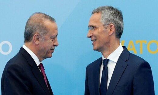 اردوغان به دبیرکل ناتو چه گفت؟