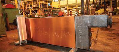 بومیسازی صفحات مسی قالب ریختهگری شركت فولاد مباركه