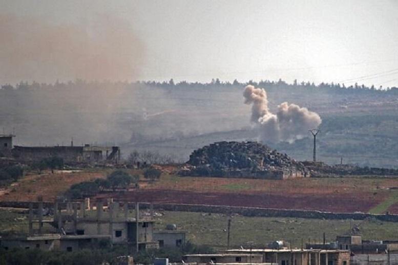 تروریستهای النصره ۳۳ بار ادلب سوریه را هدف قرار دادند