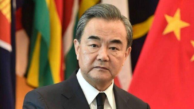 دیدار وزیر امور خارجه چین با لاریجانی