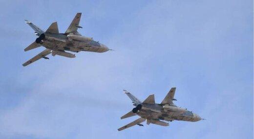حمله جنگندههای روسیه به مواضع داعش در سوریه