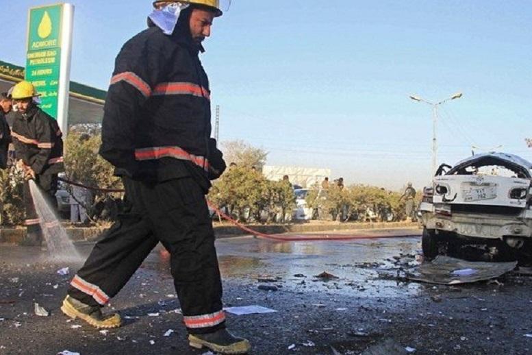 ۳۰ کشته و زخمی در انفجار خودرو در لوگر افغانستان