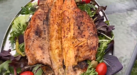 طرز تهیه ماهی کبابی بازاری