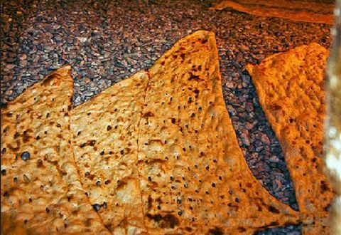 پخت نان رایگان برای نیازمندان ۷ شهر سیستان