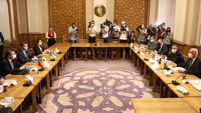 آغاز نشست هیئتهای مصر و ترکیه
