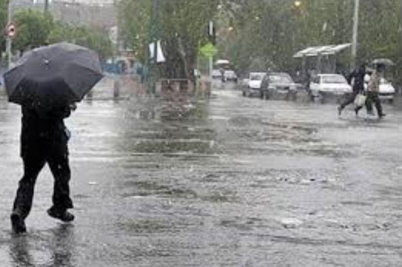 بارش شدید در ۱۰ استان کشور