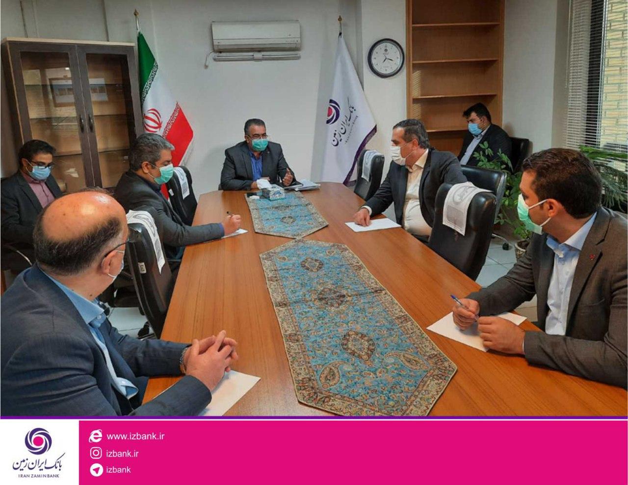 روحیه تعامل و تلاش همراه با انگیزه شاخصه سازمان جوان بانک ایران زمین است