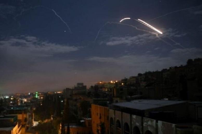 یورش جنگندههای رژیم صهیونیستی به حومه دمشق