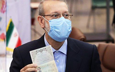 ثبت نام علی لاریجانی در انتخابات ریاست جمهوری