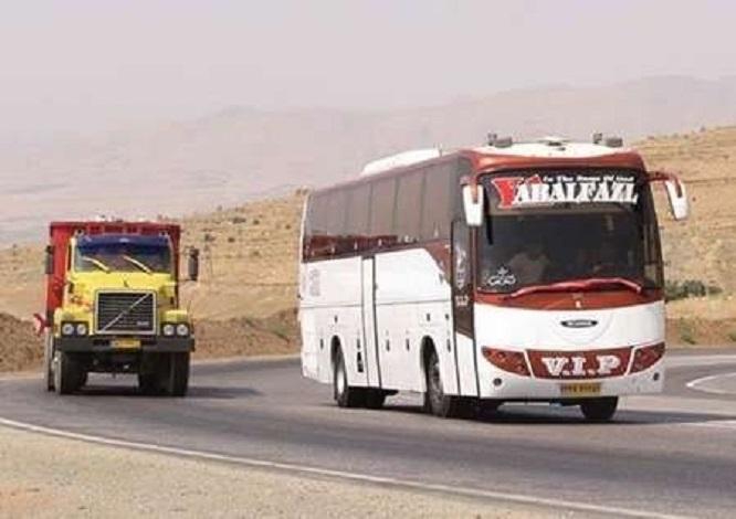 افزایش نرخ کرایه اتوبوسهای بینشهری