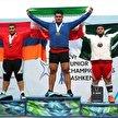 هر ۳ طلای فوق سنگین وزنه برداری آسیا به ایران رسید