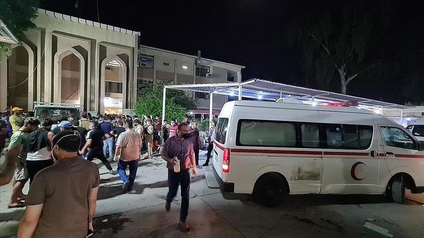واکنش مقتدی صدر به آتشسوزی در بیمارستان بغداد