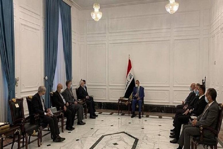 ظریف با رئیس مجلس عراق دیدار کرد