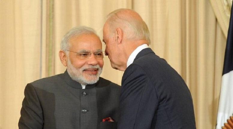 تماس تلفنی بایدن با نخست وزیر هند درباره کرونا