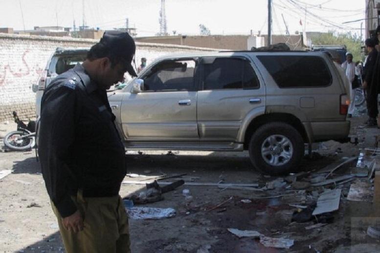 انفجار بمب در شهر مرزی پاکستان