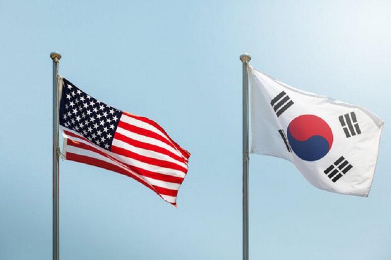گفتگوهای روسایجمهور آمریکا و کره جنوبی در کاخسفید