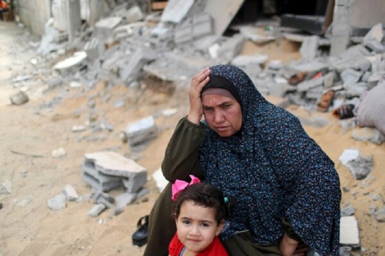 بازگشت هزاران آواره فلسطینی به خانههای ویران خود