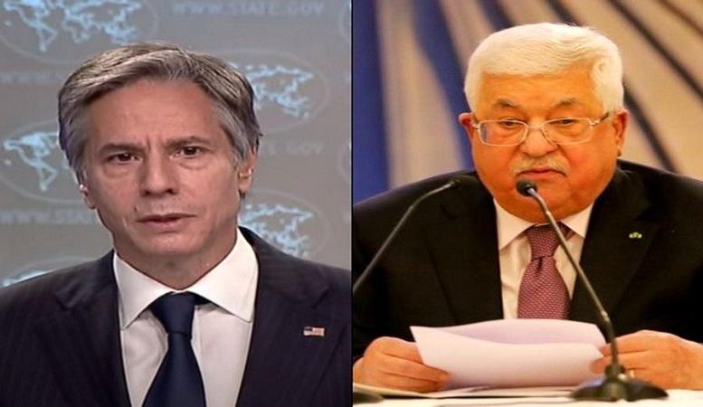 گفتوگوی تلفنی عباس و بلینکن درباره تحولات فلسطین