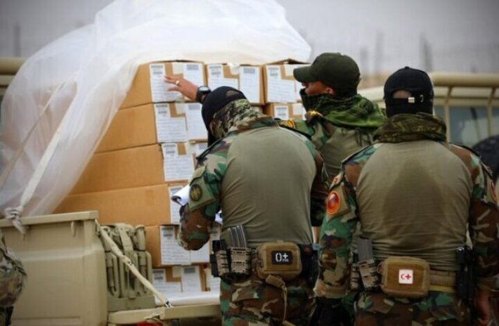 ائتلاف آمریکایی ۳ میلیون دلار سلاح به عراق تحویل داد