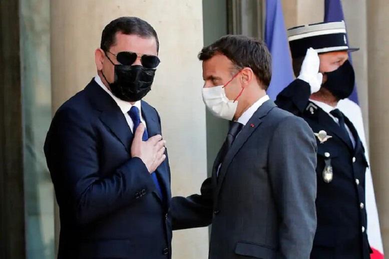 تاکید ماکرون بر حمایت از نخست وزیر لیبی