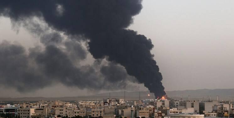 آخرین وضعیت آتشسوزی در مخازن پالایشگاه نفت