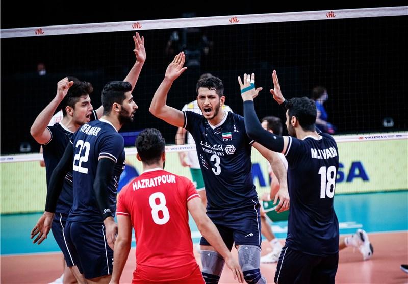 ایران ۳ بلغارستان صفر | معروف کار را برای آلکنو و تیم جوان والیبال ایران درآورد