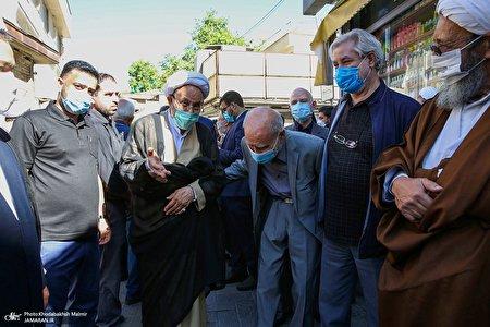 تشییع حجتالاسلام محتشمیپور در حسینیه جماران