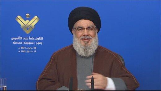 دبیرکل حزبالله:از ایران سوخت خود را تامین میکنیم