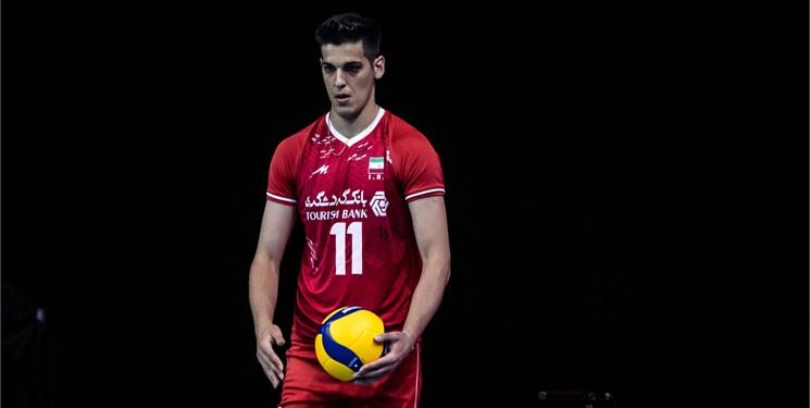 برتری کوبنده والیبال ایران بر آمریکا با تاکتیک روسی