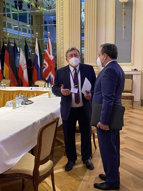 رایزنی عراقچی با روسای هیاتهای روسیه و چین در وین