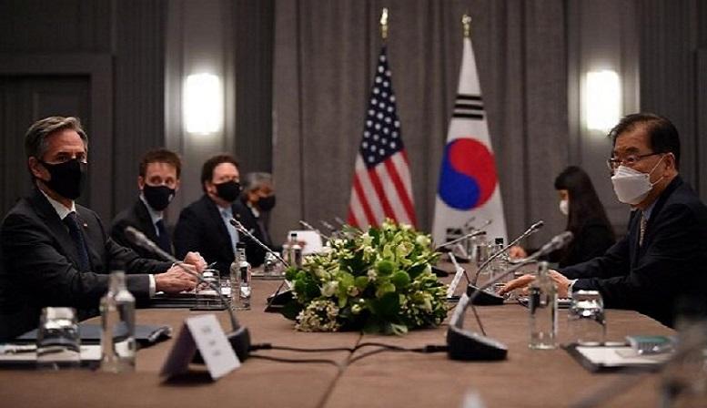 دیدار وزرای خارجه آمریکا و کرهجنوبی با محور کره شمالی