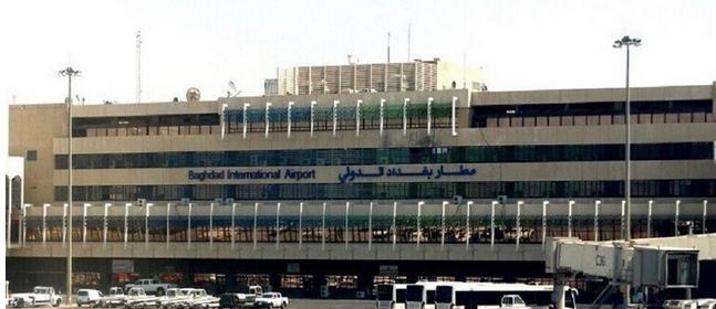 حمله پهپادی به فرودگاه بغداد