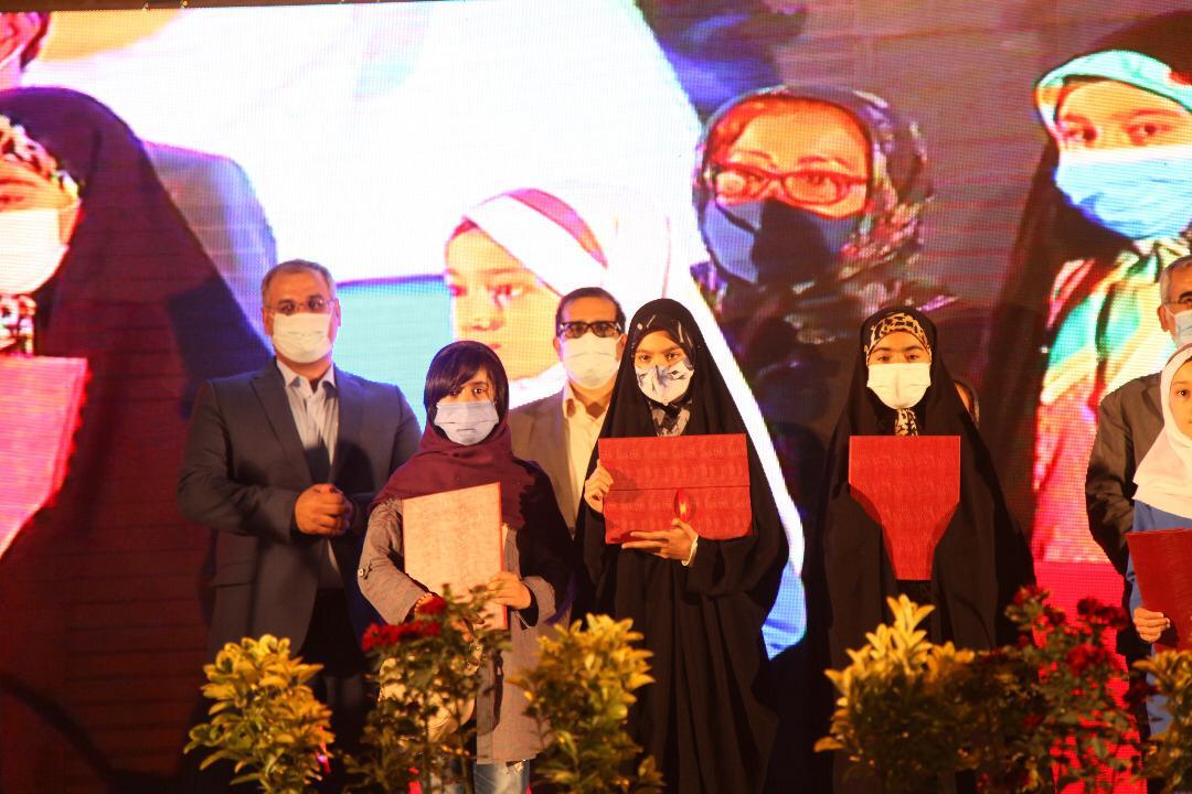 تجلیل از کودکان کار برگزیده در مسابقات قرآنی و ورزشی