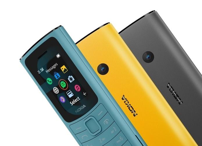 نوکیا ۱۱۰ 4G و ۱۰۵ 4G معرفی شدند