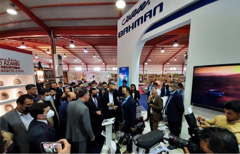 گروه بهمن با محصولات متنوع به نمایشگاه اربیل رفت