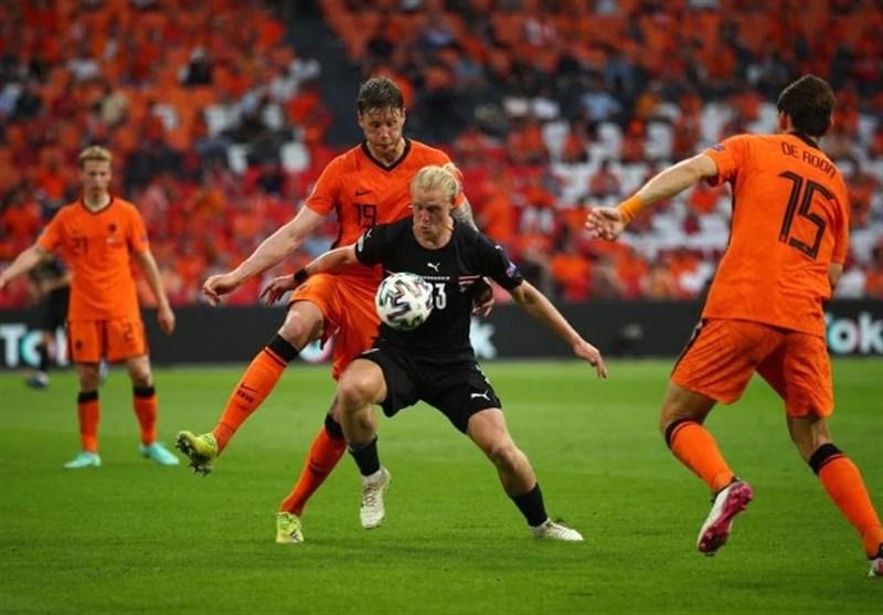 یورو ۲۰۲۰: هلند با شکست اتریش صعود کرد