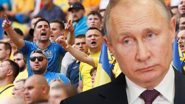 توهین شدید هواداران اوکراین به پوتین در یورو ۲۰۲۰